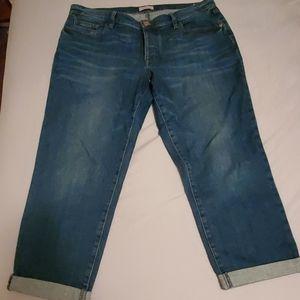 Loft Outlet brand boyfriend jeans